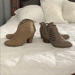 Shoes - Tan bootie bundle